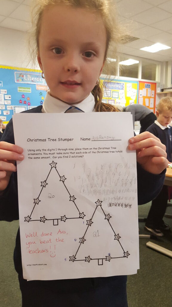 """St Clares Ps On Twitter: """"well Done Ava! Managed To Beat The"""