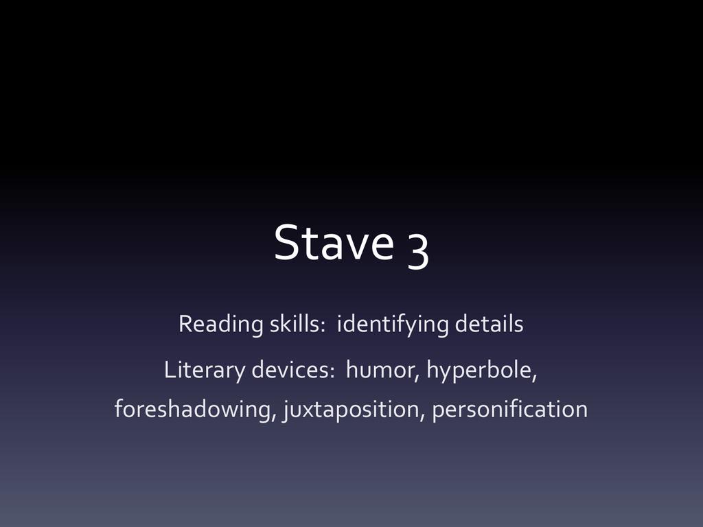 Stave 3
