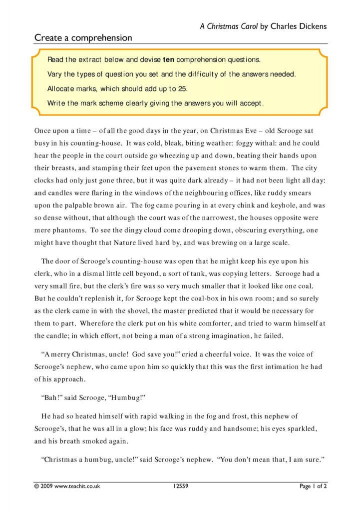 Stave Three Of A Christmas Carol Questions | Vqvpqq