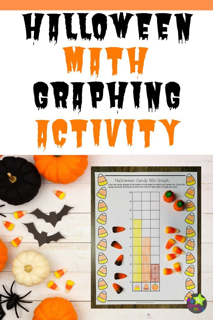 Students Will Have Fun Graphing Halloween Mix Candy Using