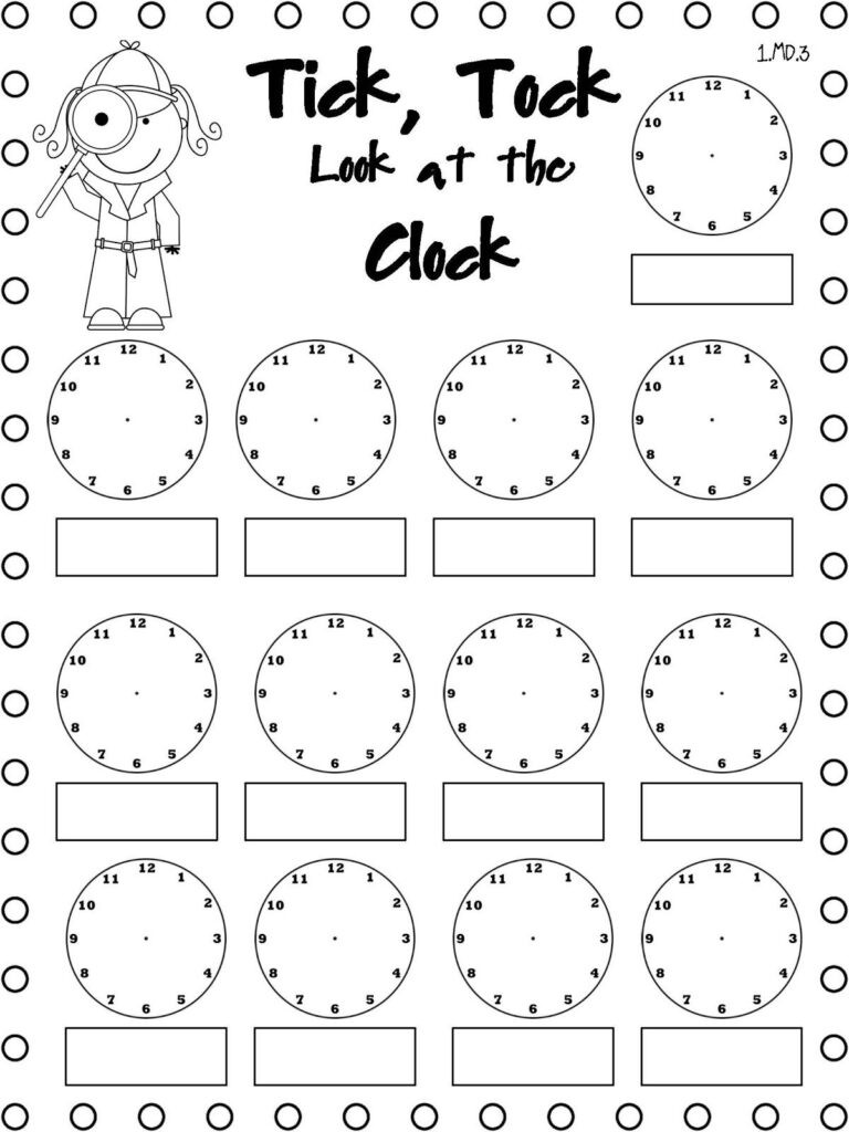 Telling Time Freebie. Use This Throughout The Day. When A