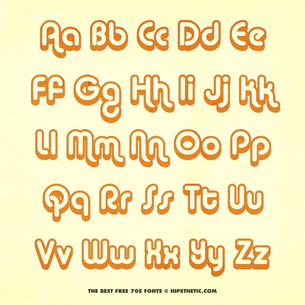 The 12+ Best Free 70S Fonts - Hipsthetic   Free 70S Fonts