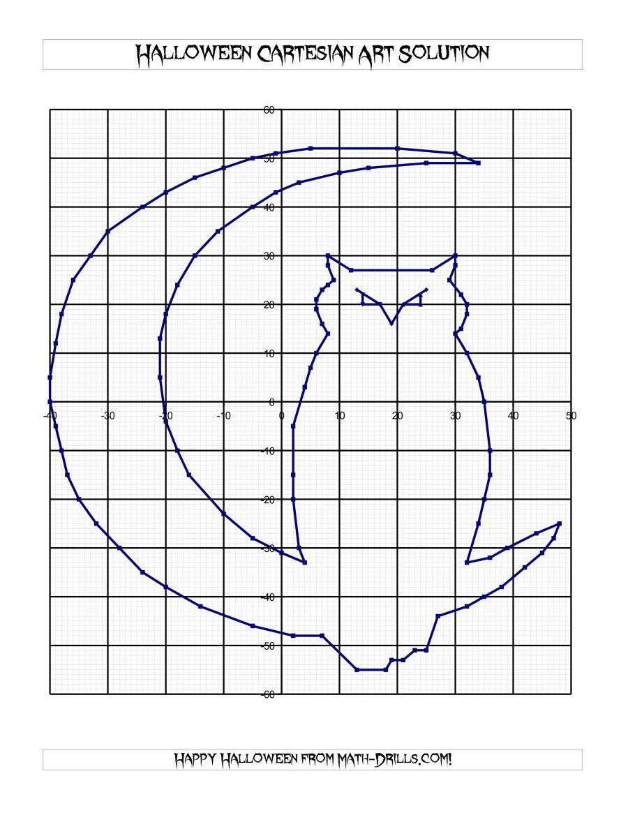 The Cartesian Art Halloween Owl Math Worksheet   Halloween