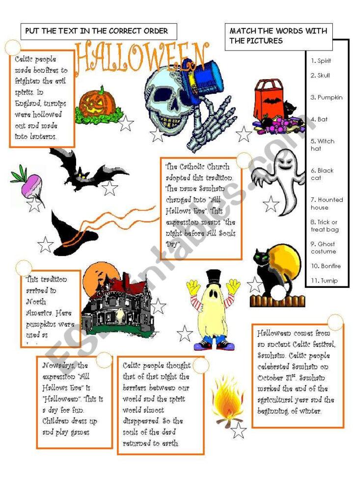 The History Of Halloween   Esl Worksheetmament