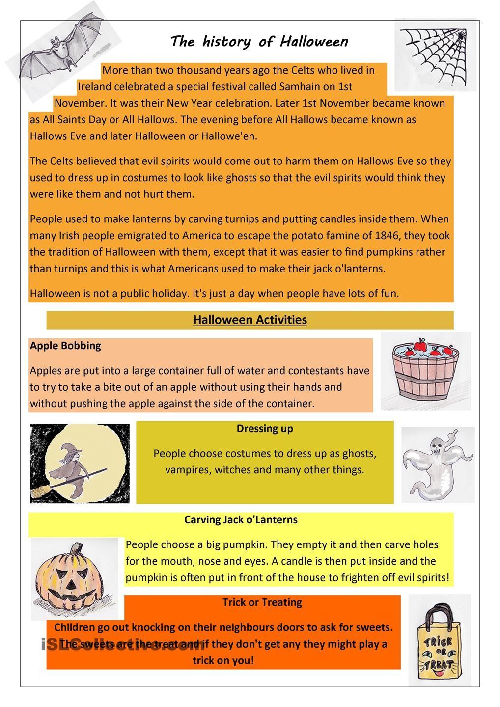 The History Of Halloween | Halloween History, Halloween