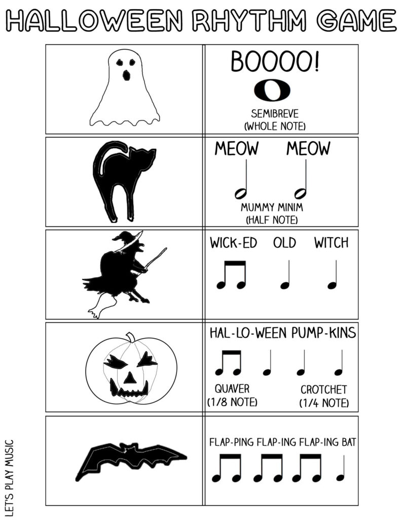 The Scary Witch Song & Rhythm Game : Songs For Halloween