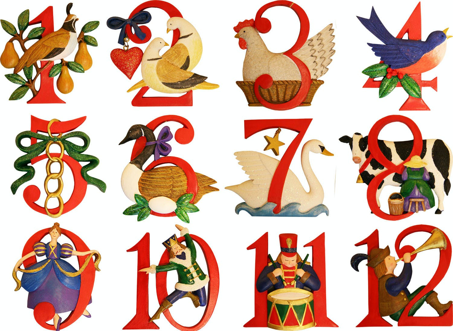 """The Twelve Days Of Christmas"""" Items And Their Cost"""