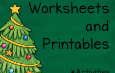 Free Printable Christmas Language Arts Worksheets
