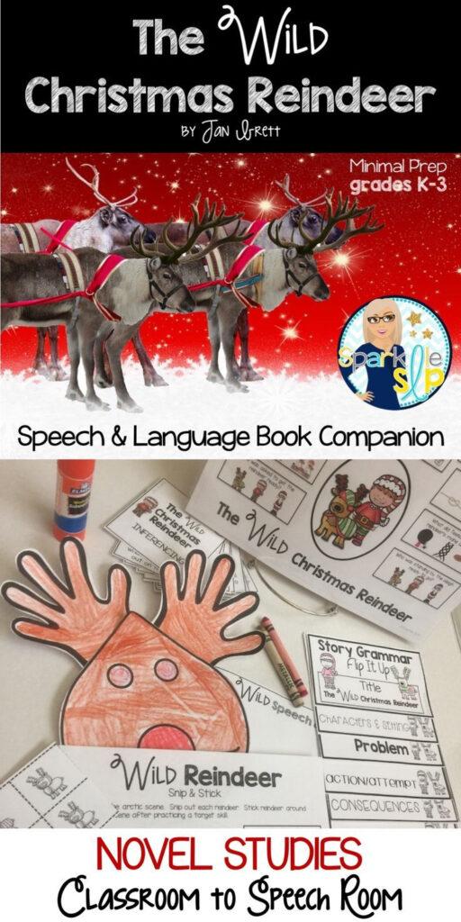 The Wild Christmas Reindeer Book Companion For Speech