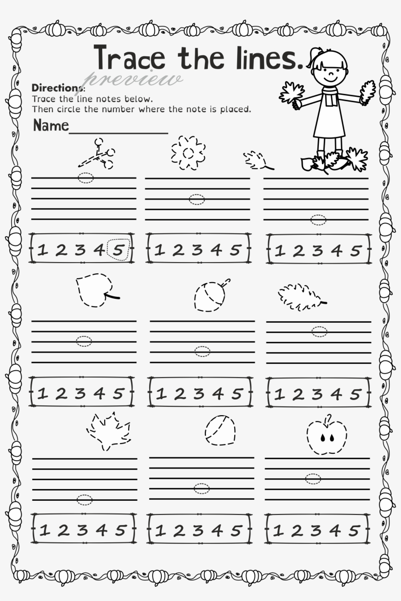 Theory Worksheets Music Teacher Worksheets Reading - Notes