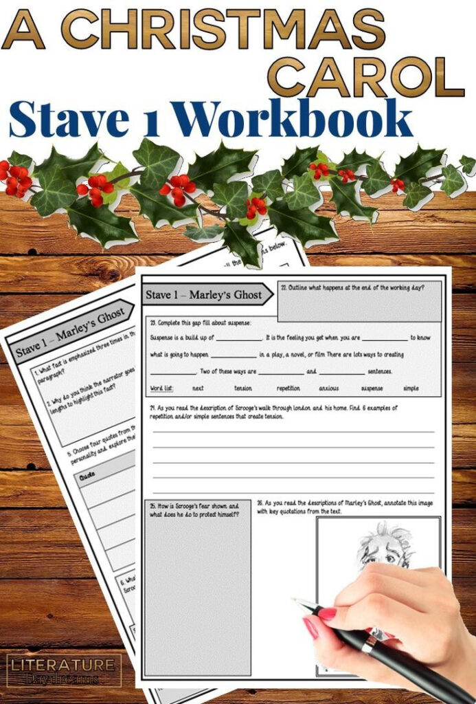 This Comprehensive A Christmas Carol Student Workbook Will