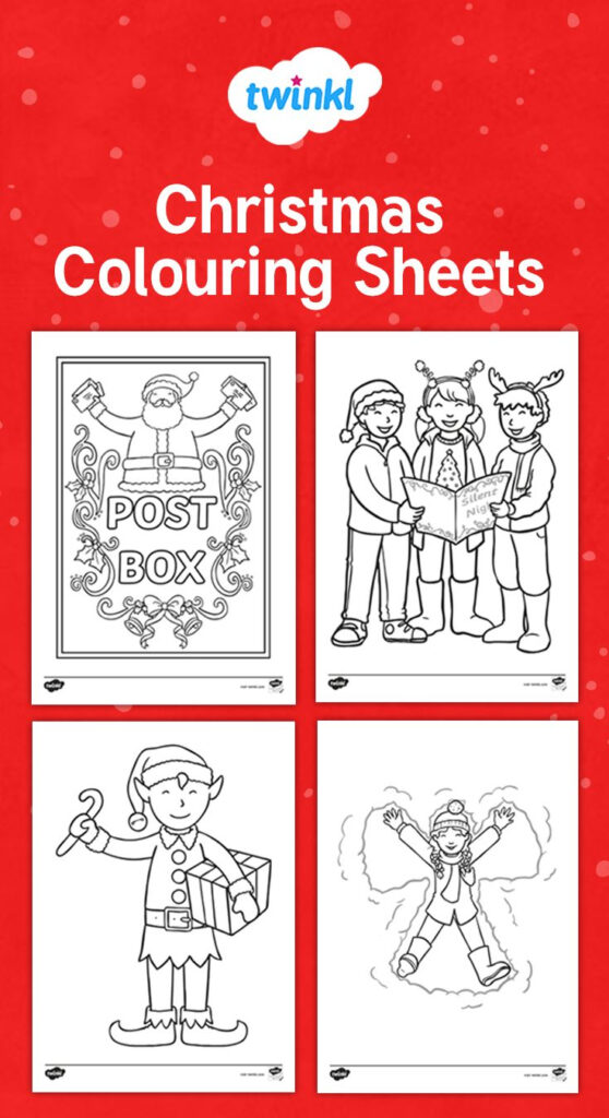 This Handy Set Of Colouring Sheets Gives Your Children The
