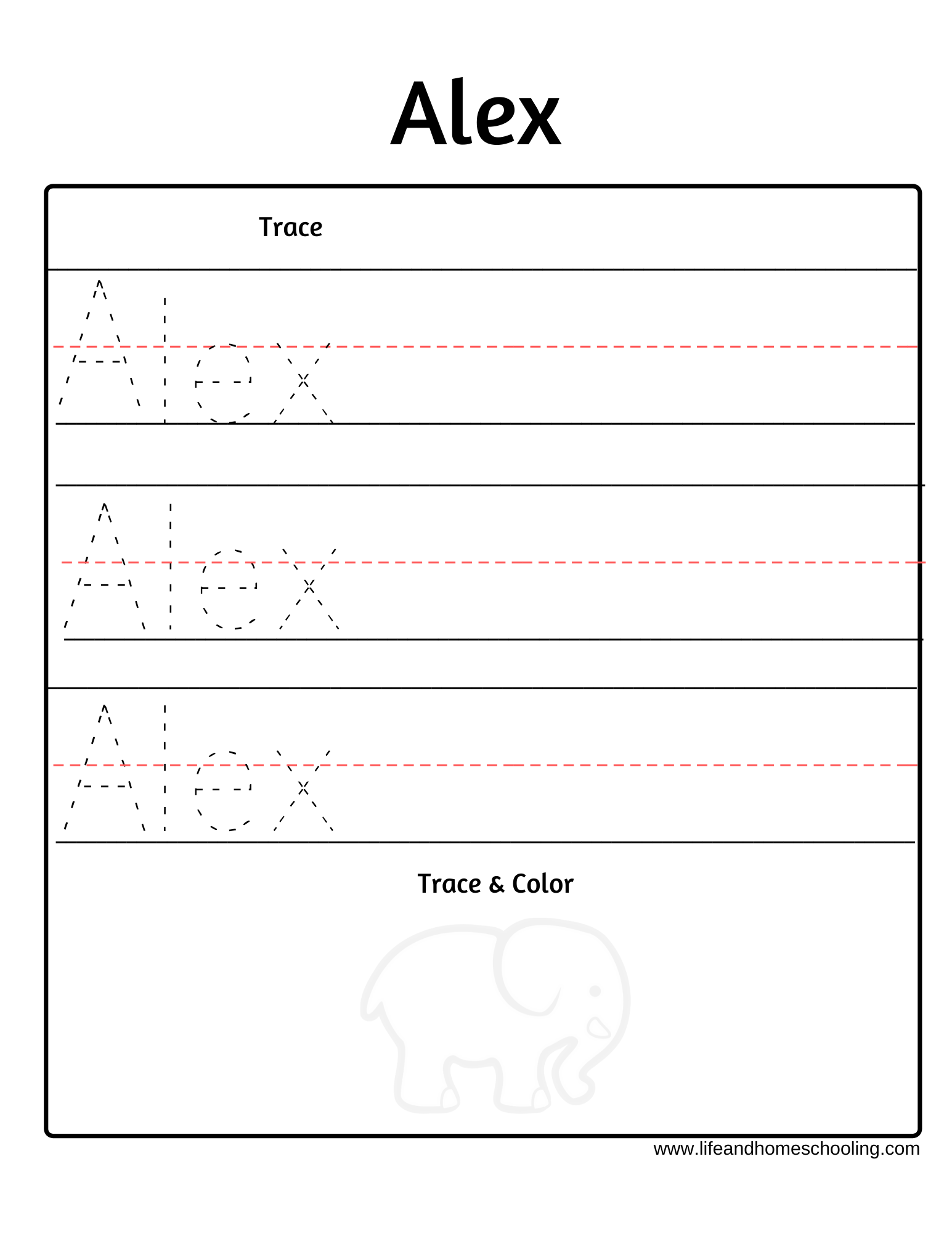 Trace My Name Worksheet In 2020 | Name Tracing Worksheets regarding My Name Is Tracing Worksheet