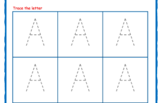 Tracing Letters – Alphabet Tracing – Capital Letters intended for Letter Tracing Exercises