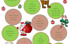 Tricky Christmas Quiz Worksheet