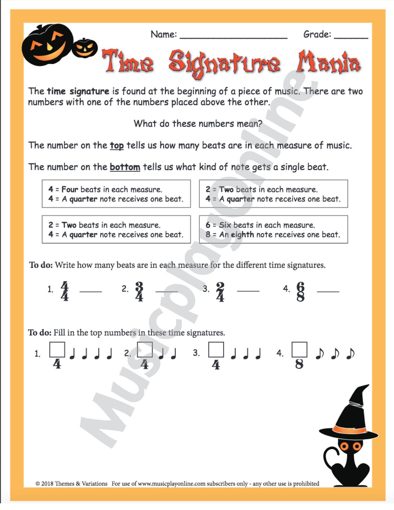 Use This Spooky Halloween Themed Worksheet To Teach Students