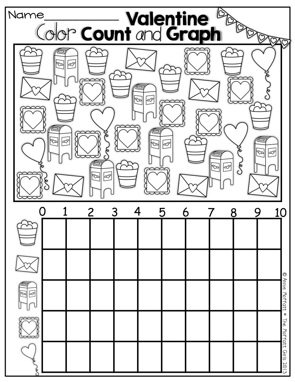 Valentine No Prep Packet (Kindergarten)   Fall Math, Winter