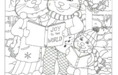 Free Christmas Hidden Picture Worksheets