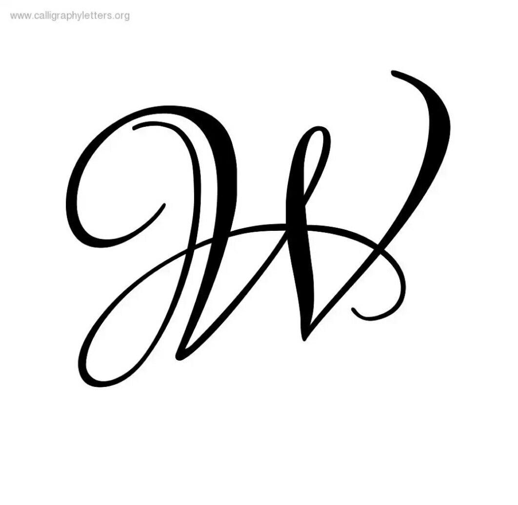 W Letter   Fancy Letters, Lettering Alphabet, Calligraphy