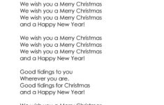 We Wish You A Merry Christmas Cloze – English Esl Worksheets