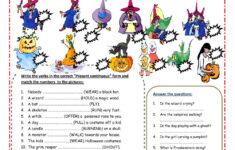 What Do Vampires Do On Halloween Worksheet