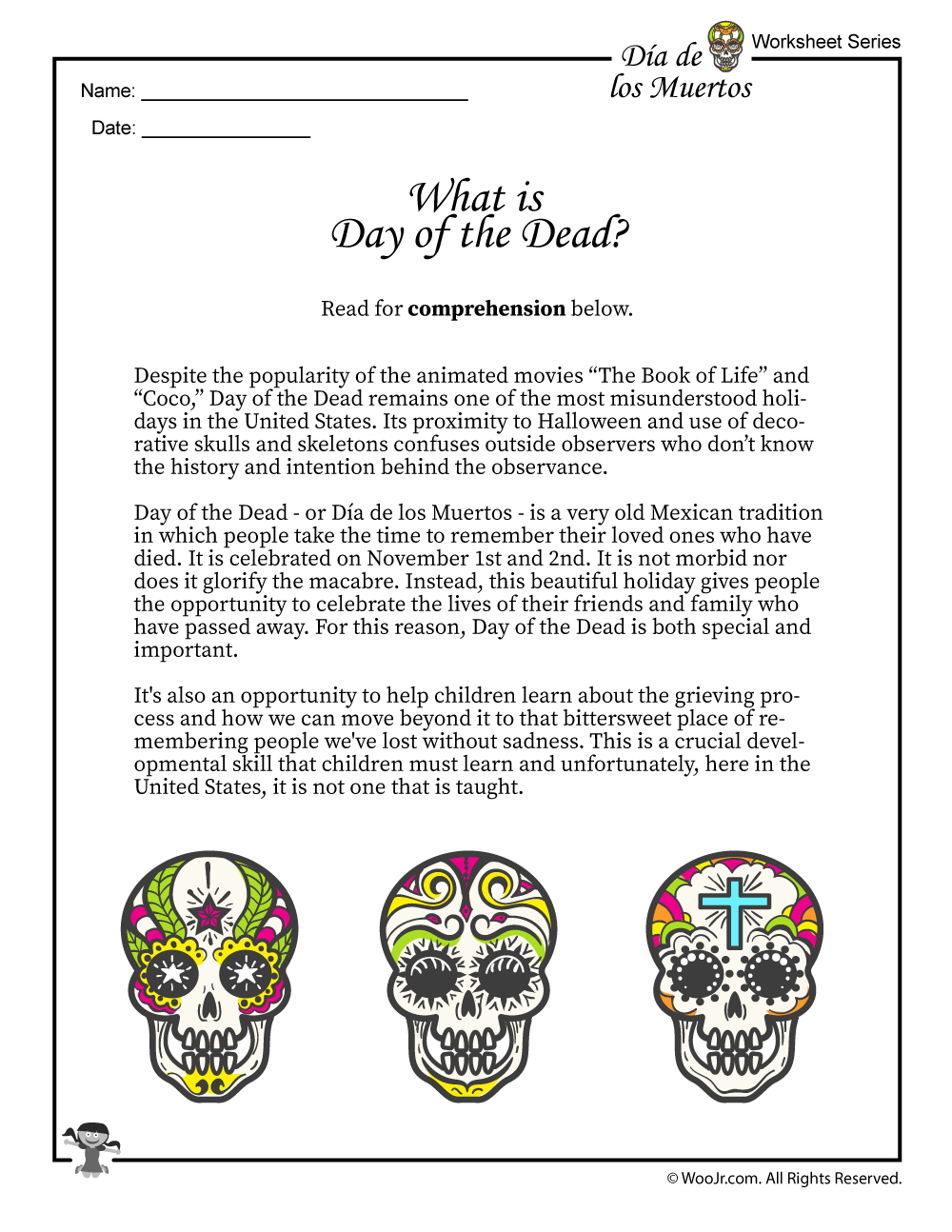 What Is The Day Of The Dead (Dia De Los Muertos)?   Woo! Jr