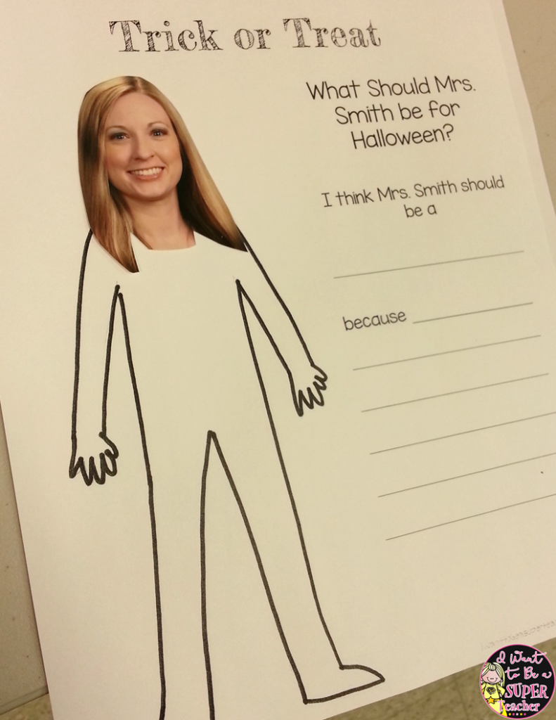 What Should My Teacher Be For Halloween? Free Editable Art