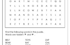 Word Search Puzzle Generator
