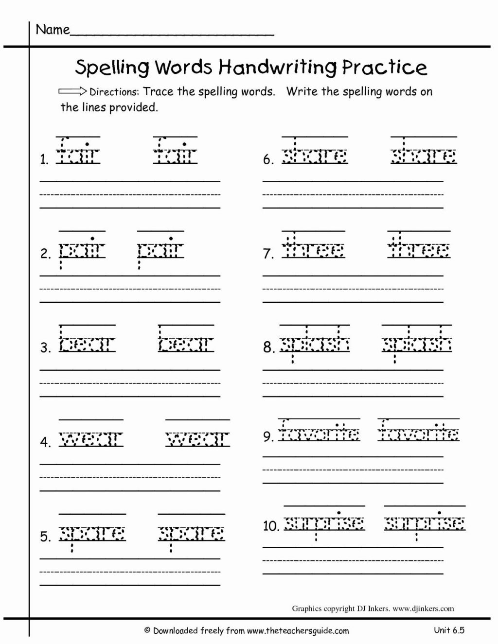 Worksheet ~ 1St Grade Writing Worksheets To Download Free