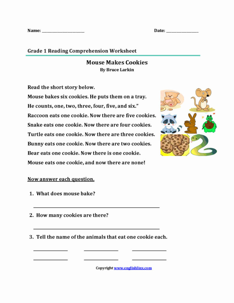 Worksheet ~ 4Th Comprehensioneets Printable And Activities