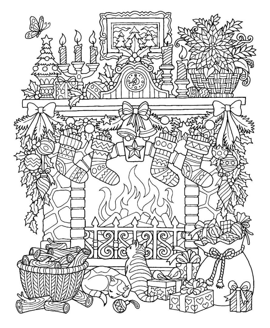 Worksheet Christmas Christian Coloring Page Holidays