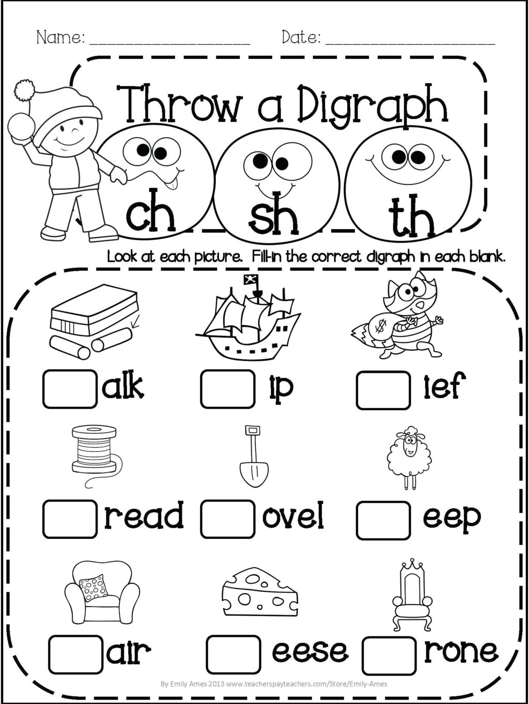 Worksheet ~ Christmas Mathsheet First Grade Place Value
