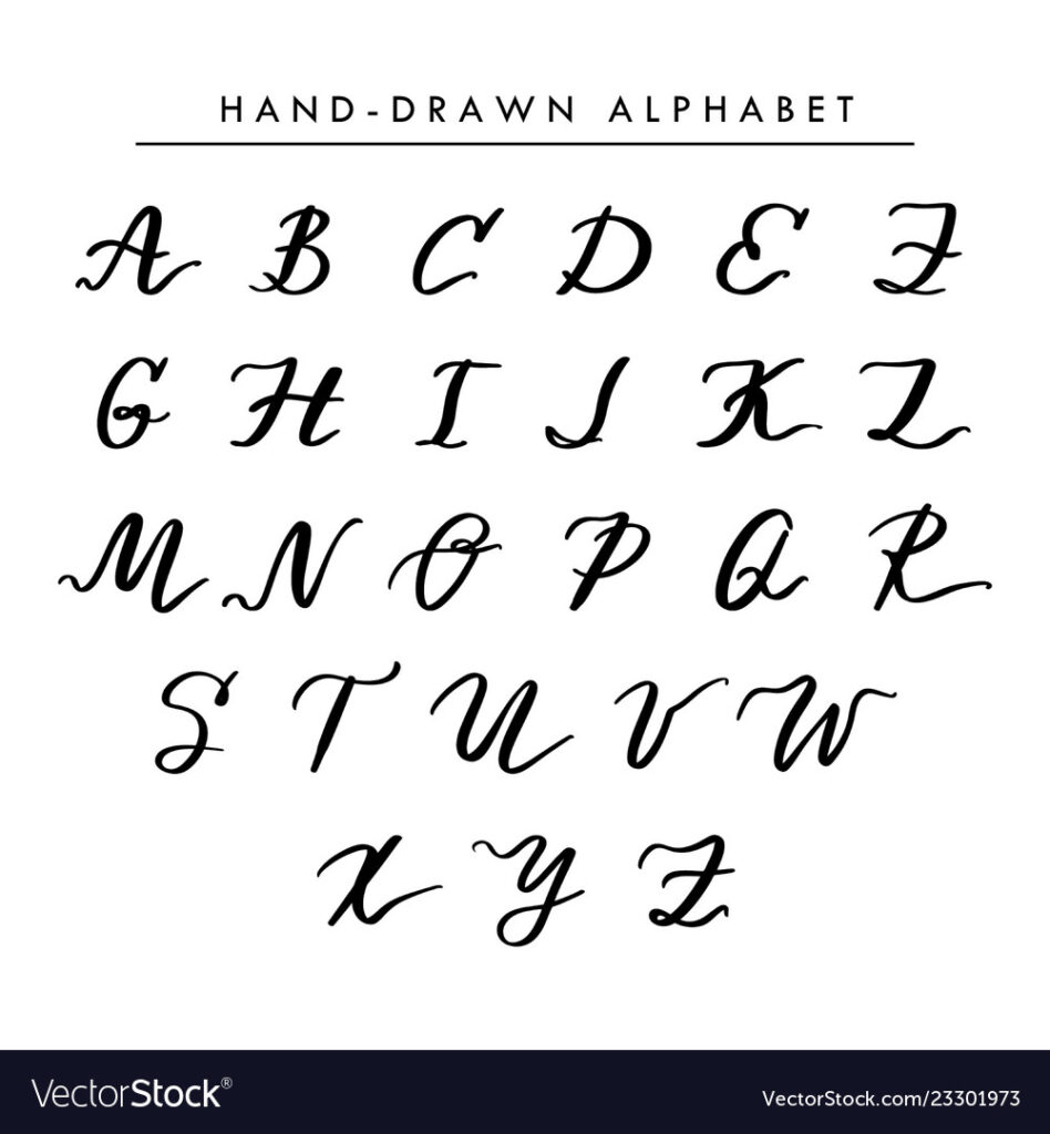 Worksheet ~ Cursive Alphabet Letters For Tattoos Kids