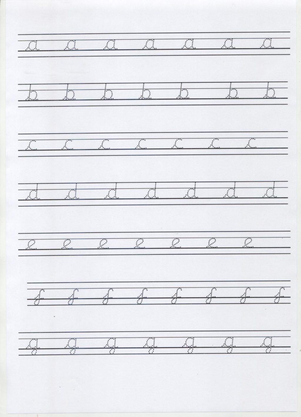 Worksheet ~ Cursive Handwriting Practice Sheets 279171