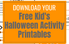 Halloween Printable Activity Pages Worksheets