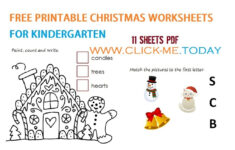Free Printable Christmas Alphabet Worksheets
