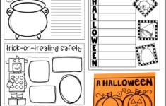 Halloween Writing Worksheets 2nd Grade