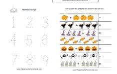 Halloween Worksheets For Presch