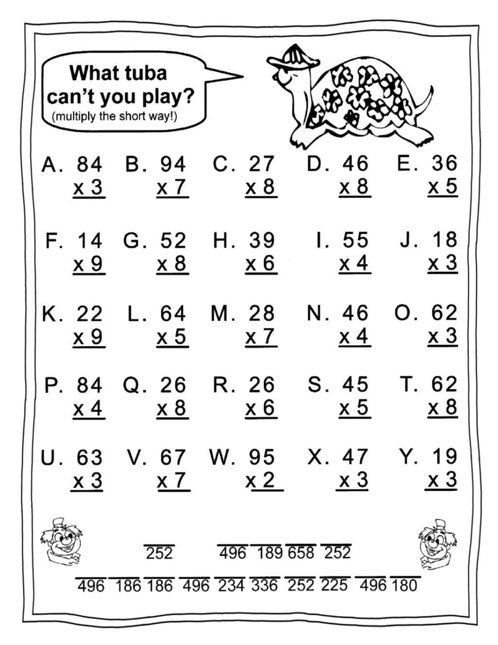 Worksheet ~ Halloween Multiplicationoring Worksheets
