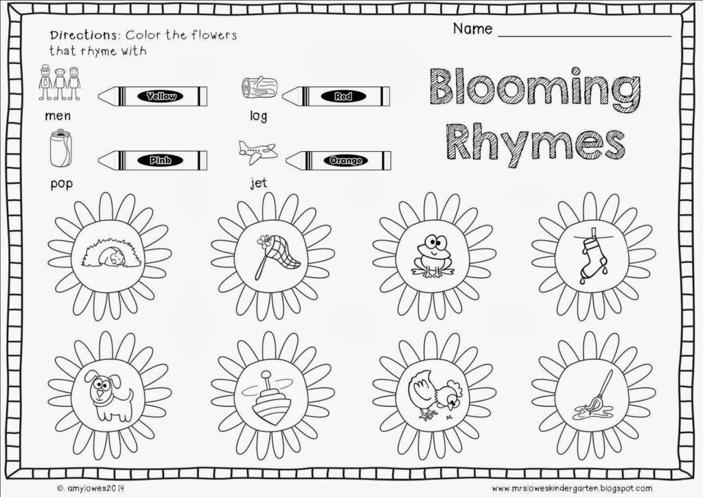 Worksheet : Introducing Patterns To Kindergarten Learn My