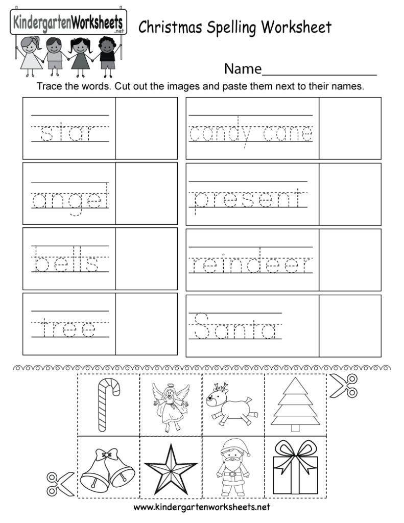 Worksheet ~ Kindergarten Christmas Writingsheets Picture