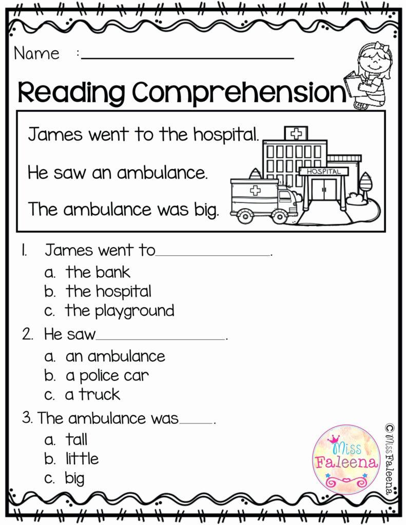 Worksheet ~ Kindergarten Halloween Reading Worksheet