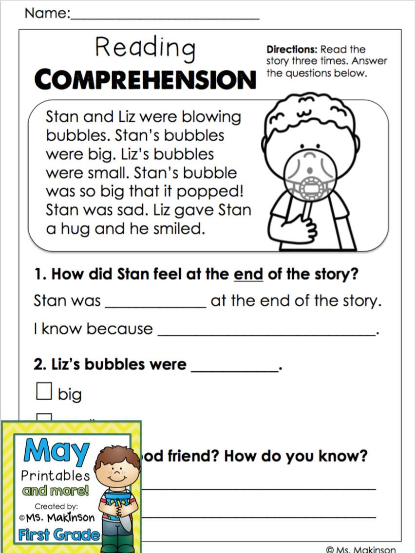 Worksheet ~ Kindergarten Reading Worksheets Printable Free