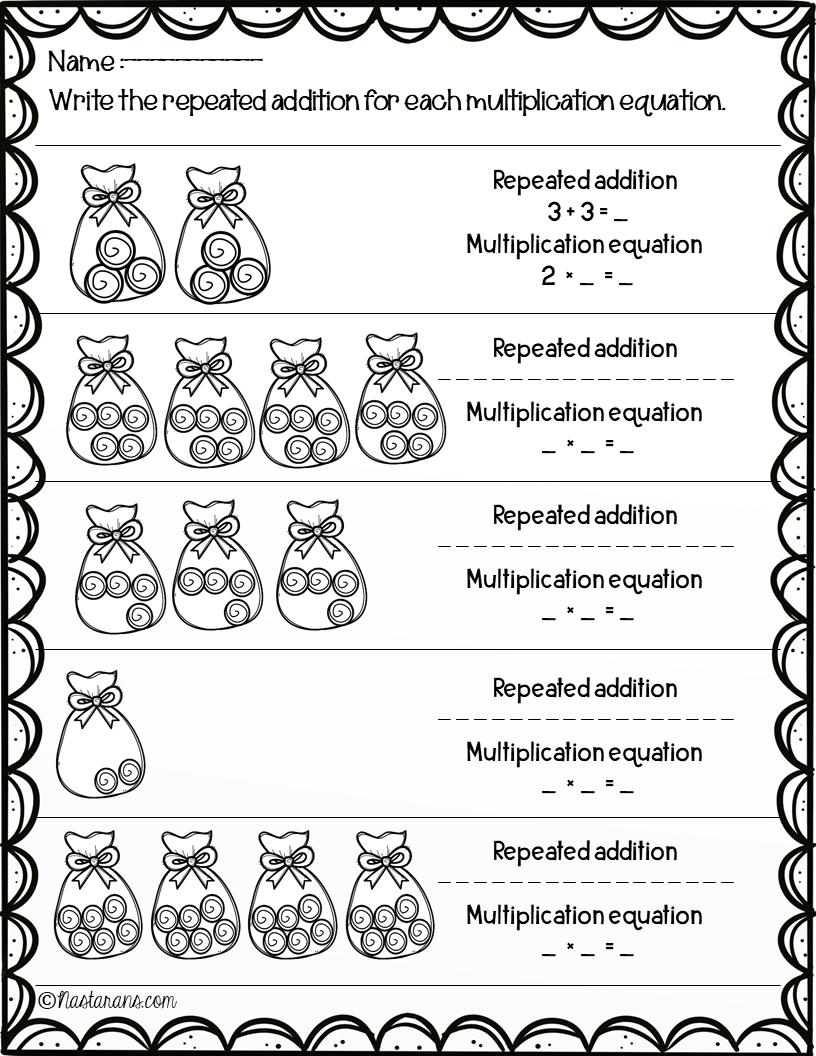 Worksheet ~ Multiplication Worksheetsrd Grade Arraysrepeated
