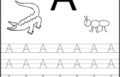 Alphabet Worksheets For Pre-K