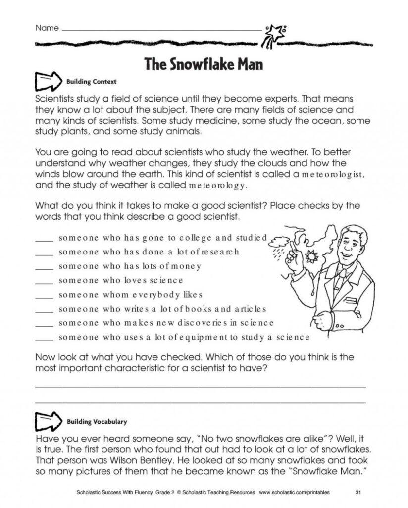 Worksheet ~ Reading Comprehension Help For 6Th Grade Free