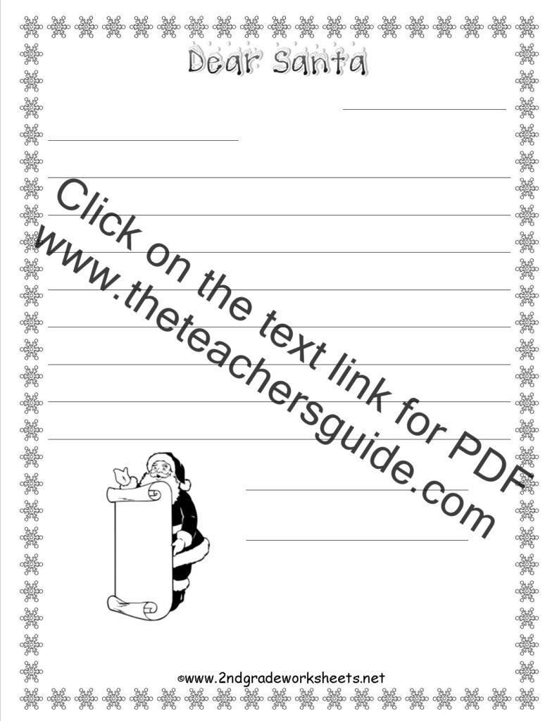 Worksheet Santa Wh   Printable Worksheets And Activities For