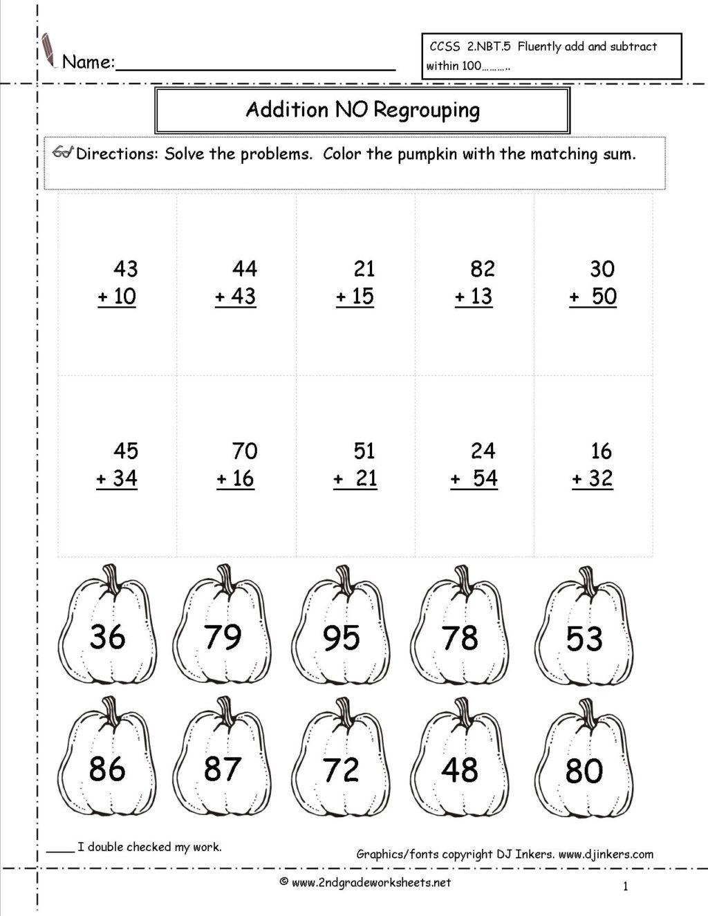 Worksheet ~ Second Grade Activity Sheets Halloween