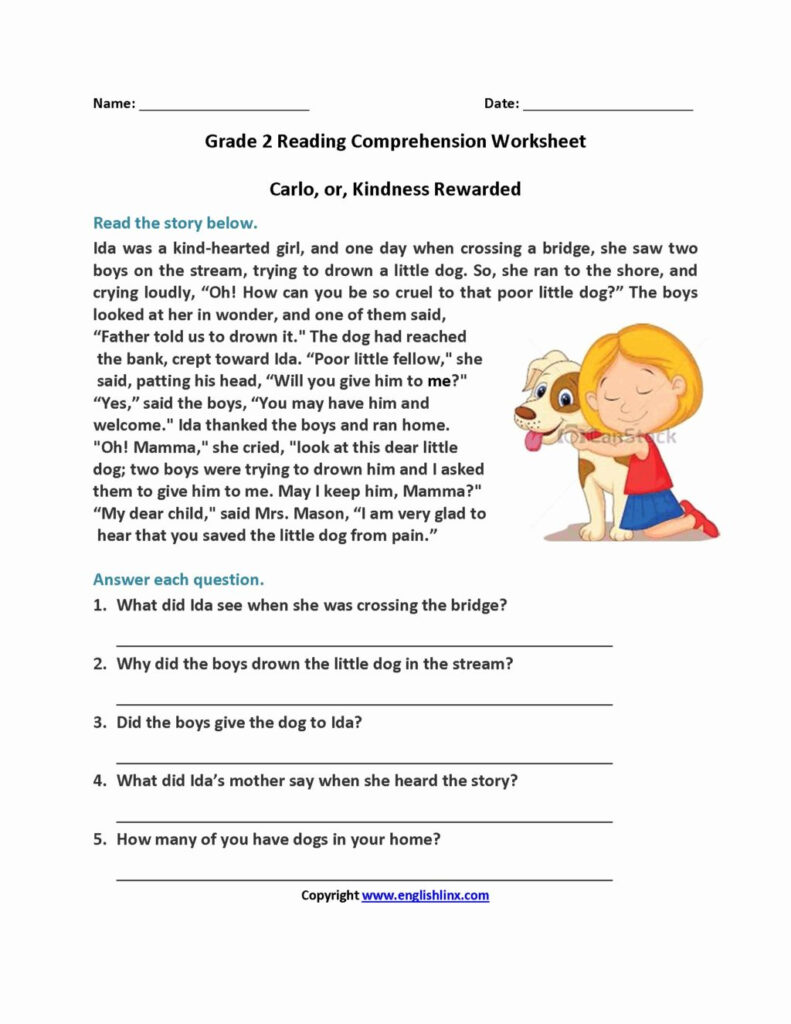 Worksheet ~ Third Grade Printablerksheets 3Rd Reading