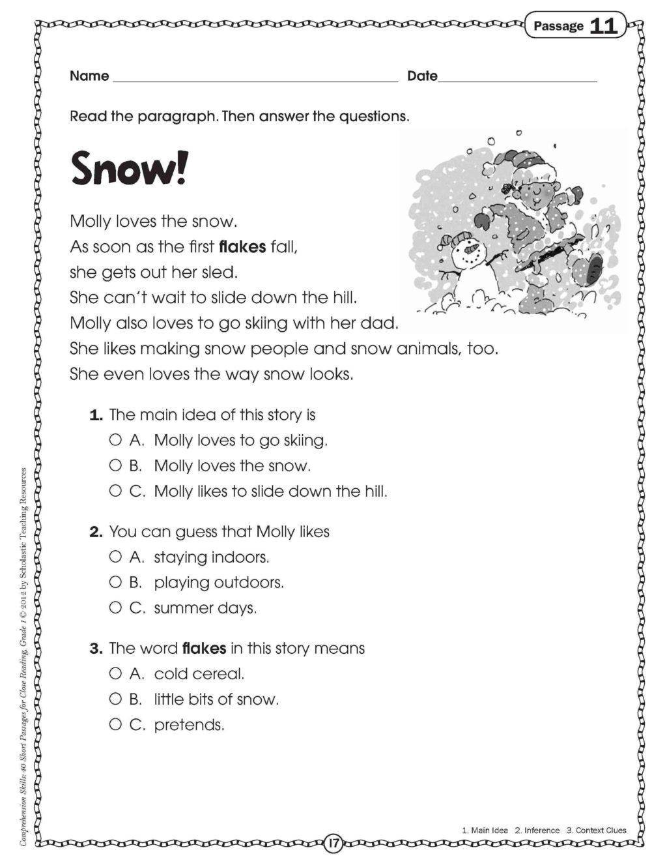 Worksheet ~ Worksheet 1St Grade Literacy Worksheets Splendi